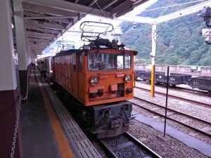 トロッコ列車に乗ってきましたよ